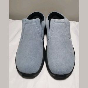St John's Bay Shoes Ortholite Suede Slip on